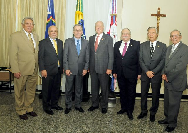 Presidente do TJPE recebe presidente do Rotary Internacional