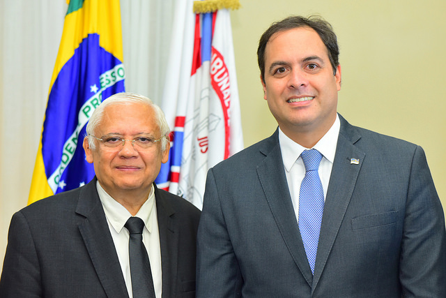 Magistrados recepcionam governador do Estado