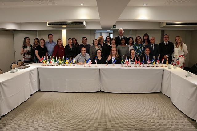 Integrantes de tribunais estaduais participaram da reunião
