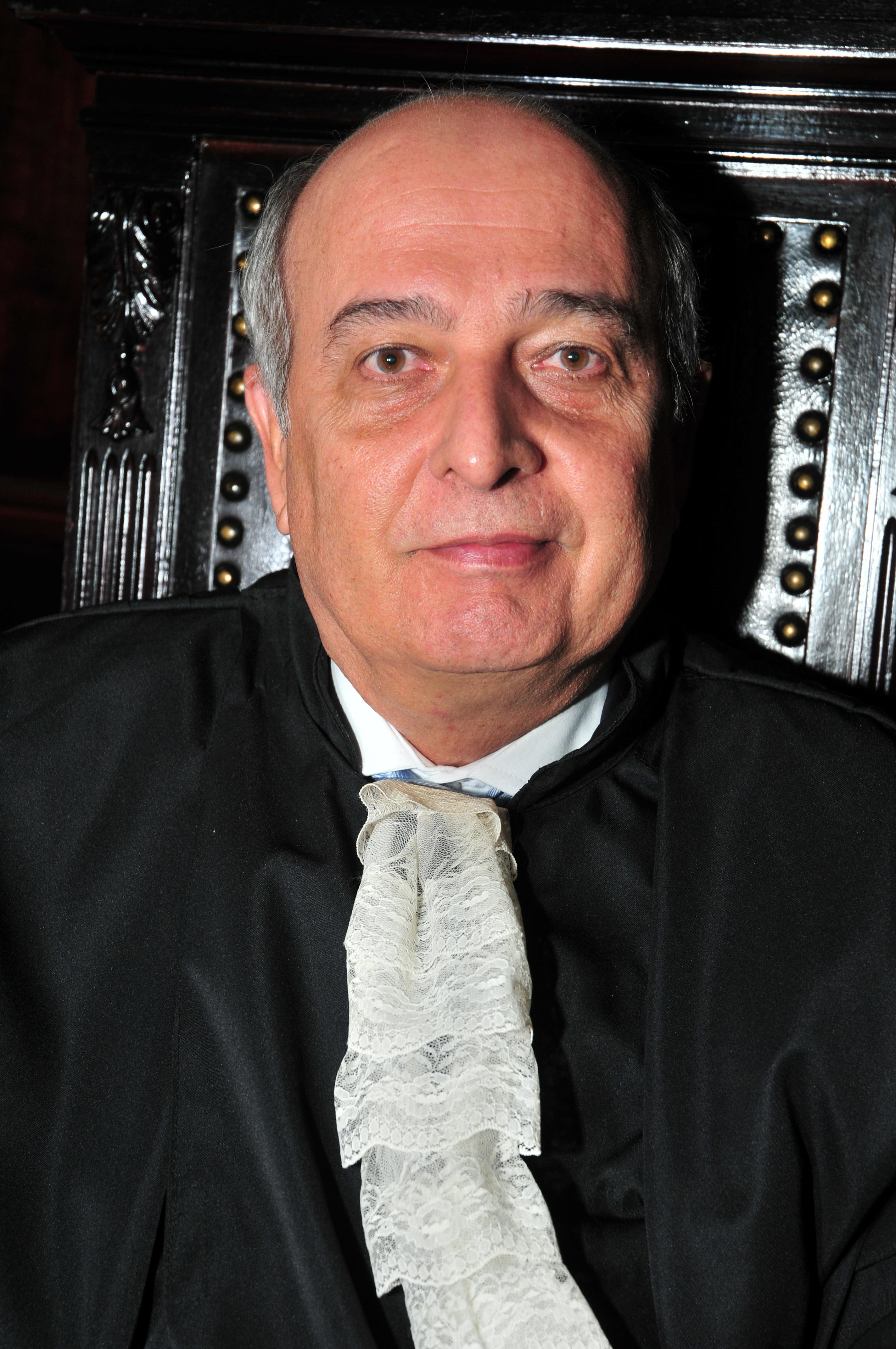 Foto do Primeiro Vice-Presidente, desembargador Adalberto de Oliveira Melo